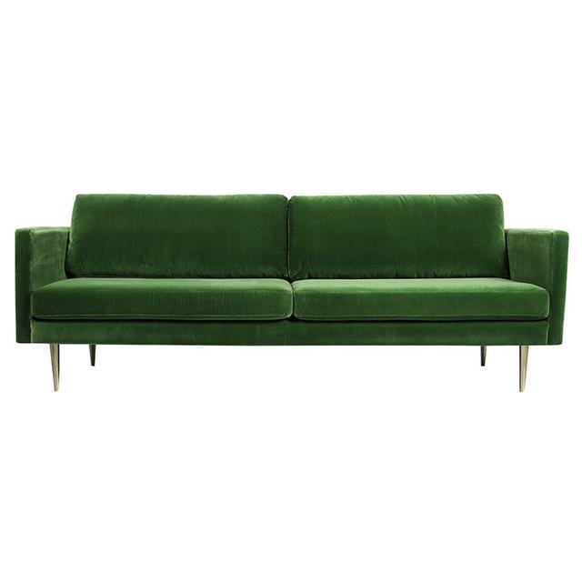 Matt Blatt The Big Apple Velvet 3 Seater Sofa