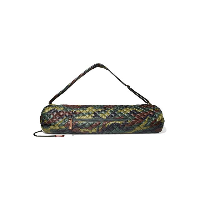 Metro Matt Camouflage-print Quilted Shell Yoga Bag