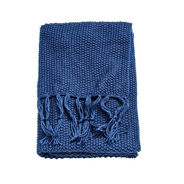 Moss-knit Throw