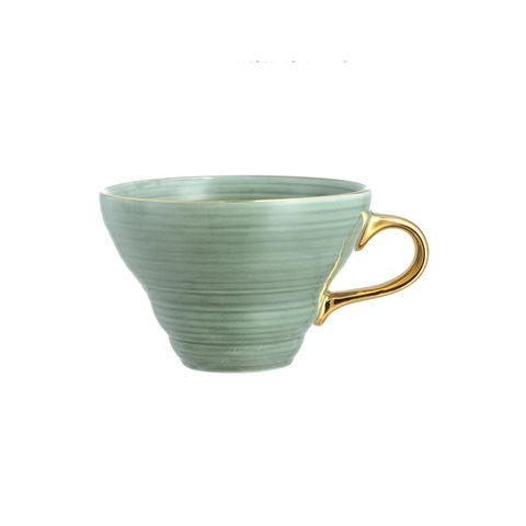 Textured Porcelain Cup