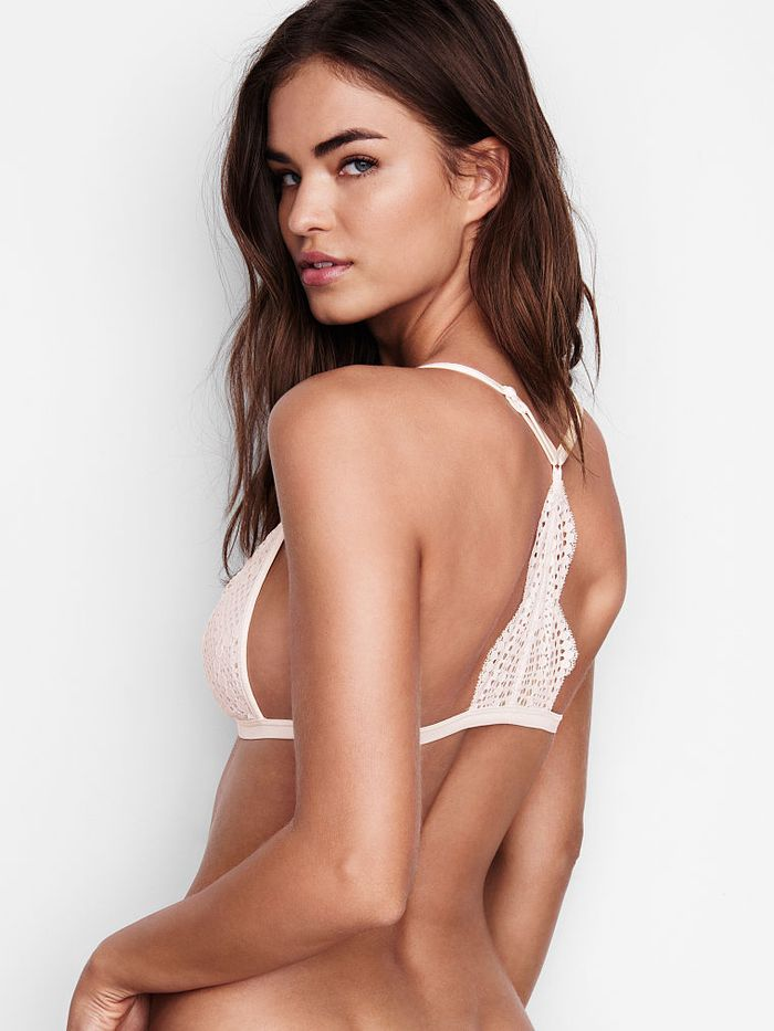 6f45dc9e3176 Pinterest · Shop · Victoria s Secret Front-Close Bralette in Coconut White  ...