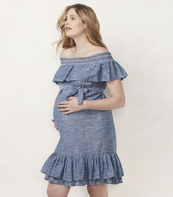 bfe05ba434 Lauren Conrad Launches Maternity Clothing