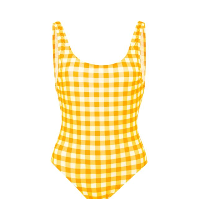 Gingham One-Piece Swimsuit