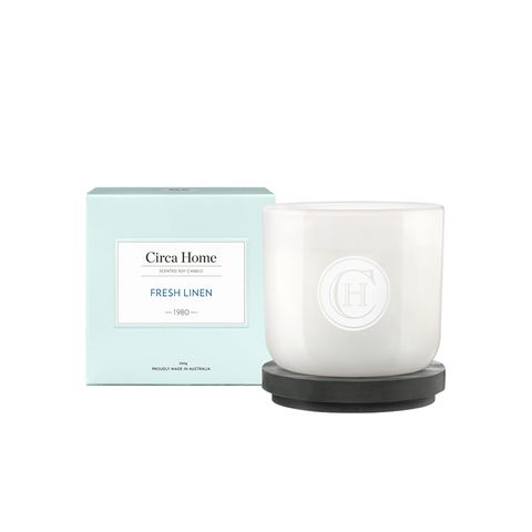 Fresh Linen Classic Candle