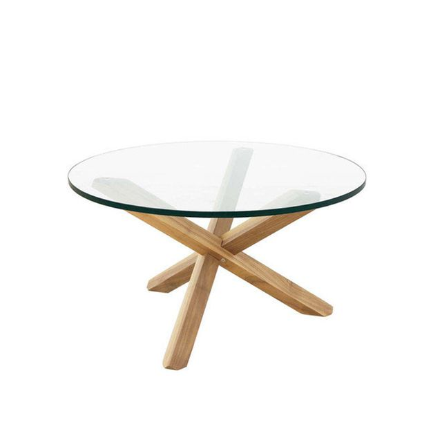 Oslo Home Twix Oak Coffee Table