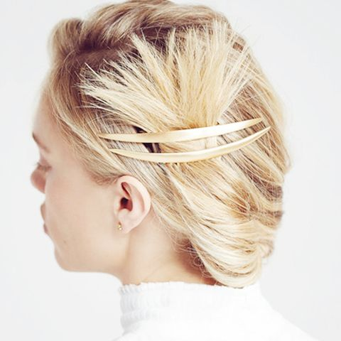 Smooth Crescent Hair Comb