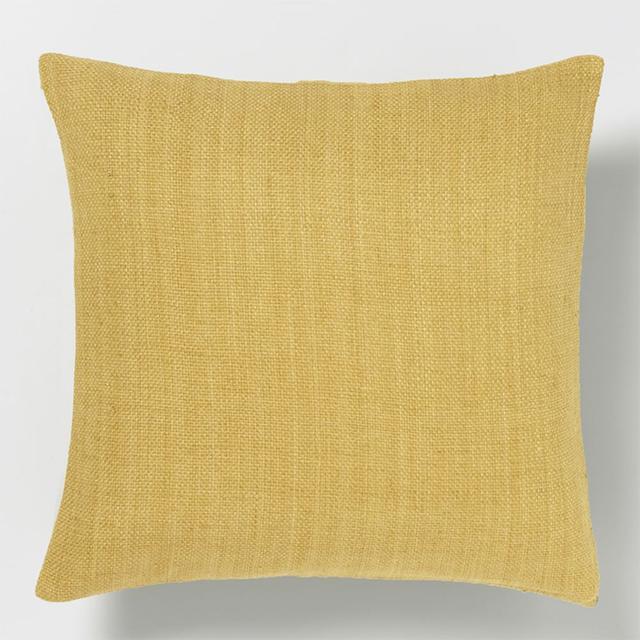 West Elm Silk Hand-Loomed Cushion Cover