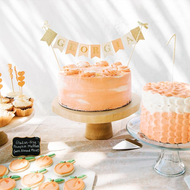 This Peach-Themed First Birthday Party Is an Adorable Must-See
