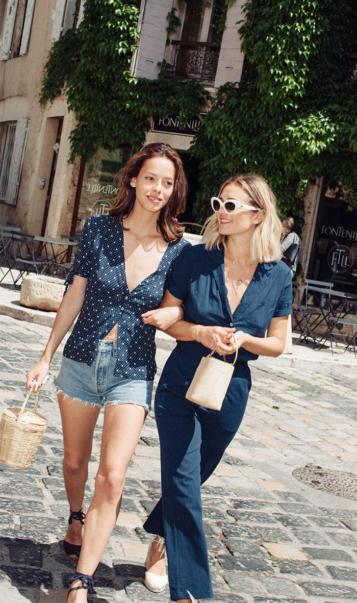 French Summer Style In 4 Easy Pieces Who What Wear Uk