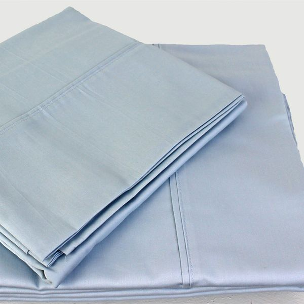 Eco Down Under Eco Cotton Queen Sheet Set in Sky Blue