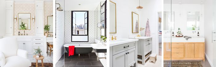The Property Brothers' Bathroom Ideas On A Budget MyDomaine New Bathroom Designs On A Budget