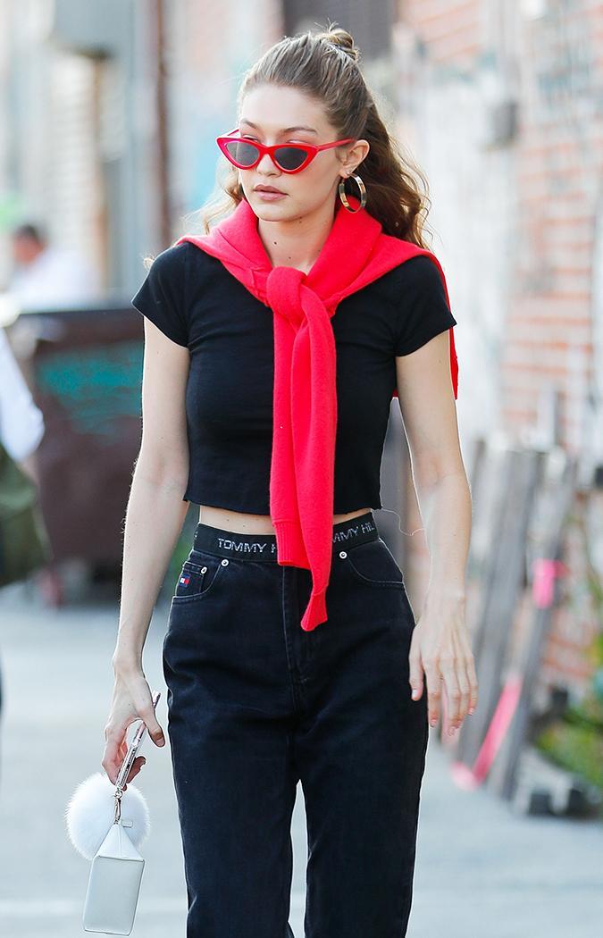 And Gigi Bella Trendy Wear Sunglasses Are The Hadid WearingWho What zqSUMVpG