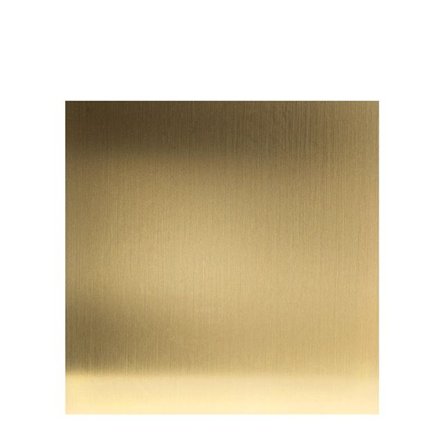 Kubus 8 Base Brass Plated