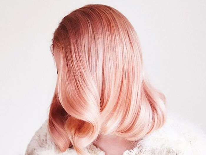 Peach Hair Is All Over Pinterest And We Re Mesmerised Byrdie Au