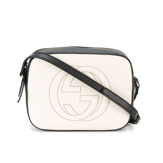 Gucci Soho bag: Gucci Soho Disco Textured-Leather Shoulder Bag