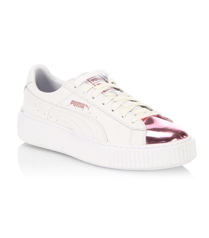 Puma s New Rose-Gold Sneakers Are So Pretty  70f43b00e