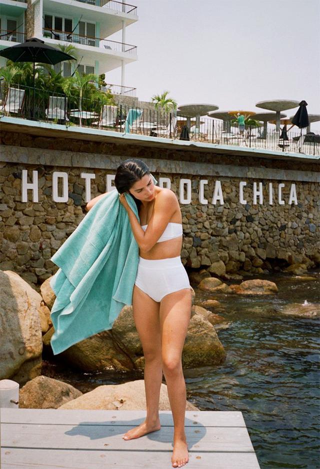 Ciao Lucia Coco Bandeau White