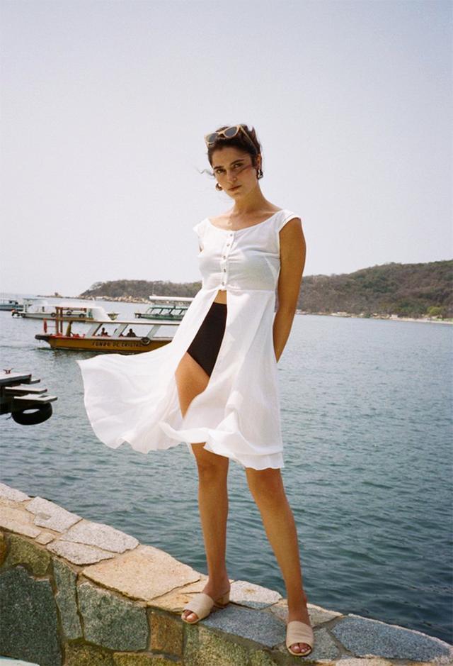 Ciao Lucia Bianca Top Shell