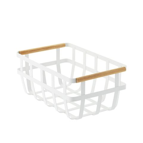 Tosca Basket With Wooden Handles