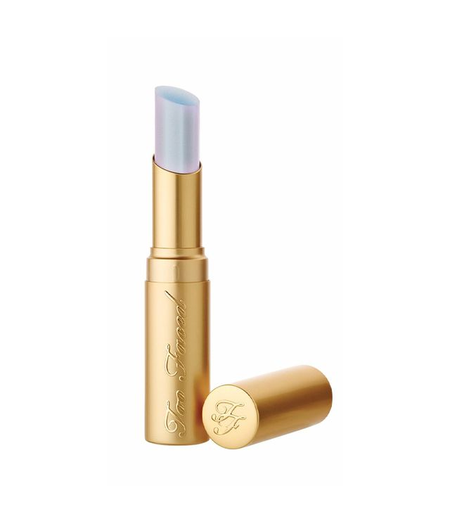 too faced unicorn tears - holographic lipstick