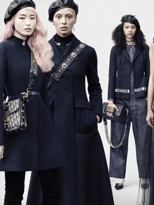 Confirmed: Models Have the Most Fun on Dior Shoots