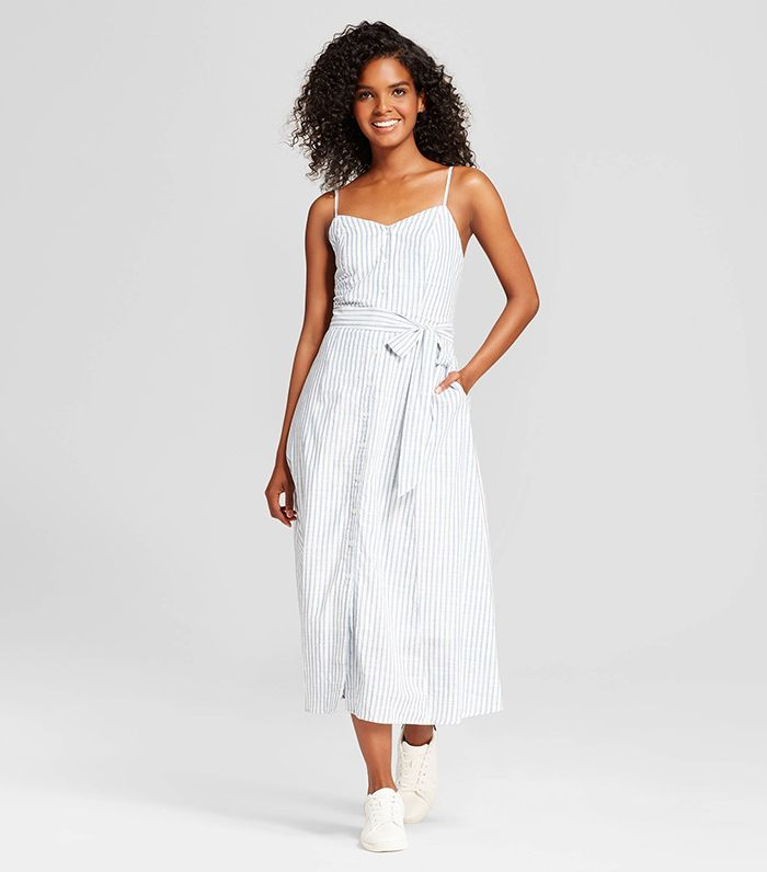 71cbeed2a86 See and Shop the Who What Wear Button Down Tank Dress