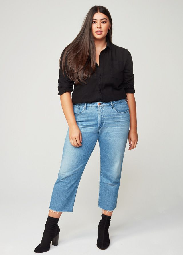 207cbb6354625 The Most Flattering Plus-Size Jeans