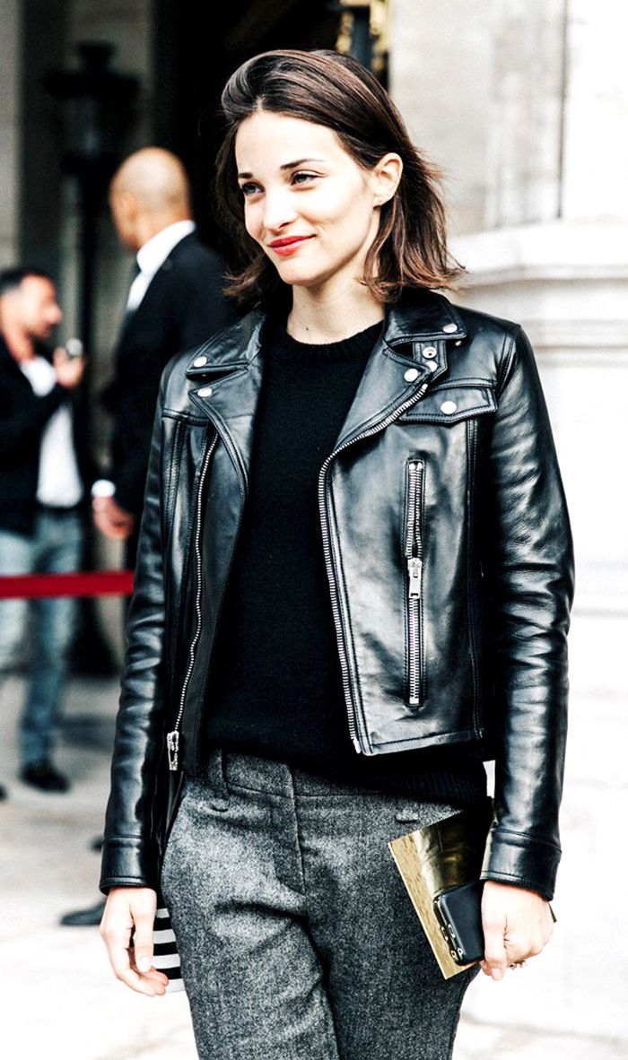 How to Wear a Moto Jacket Like an NYC and Paris Girl