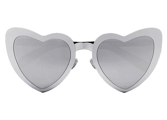 a6d9a50c76 Saint Laurent s Loulou Heart-Shaped Sunglasses Are Trending