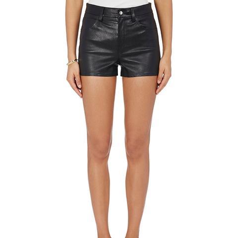 Lambskin Shorts