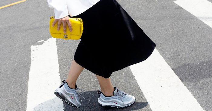 best service c771a 6eb0f How to Wear Nike Air Max Sneakers   Who What Wear