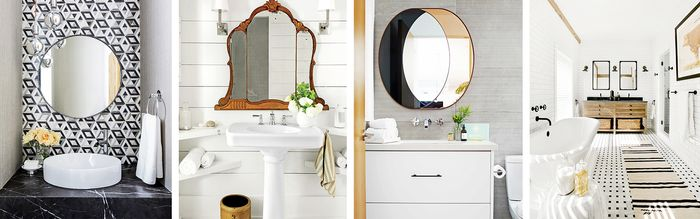 & 12 Beautiful Bathroom Mirror Ideas | MyDomaine