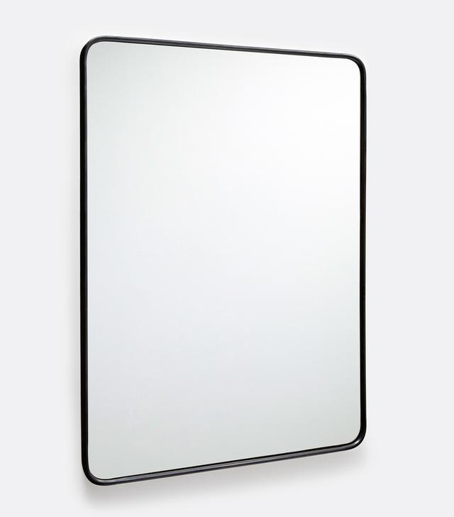 rakka black lacquer mirror