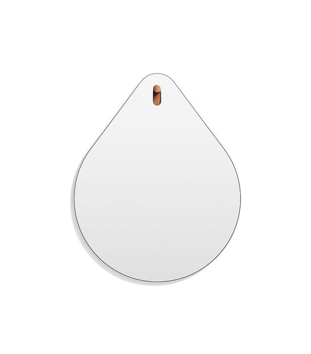 Metal Framed Mirror - Oval