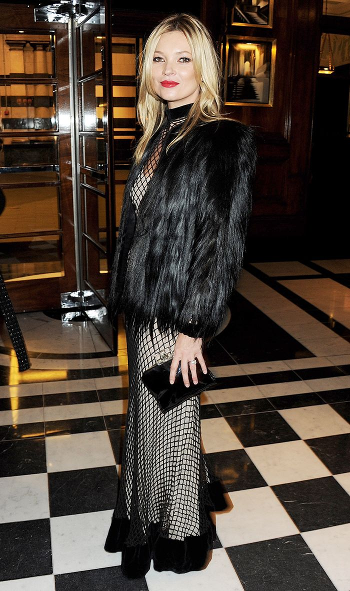 10 Of Kate Moss S Best Style Moments Who What Wear