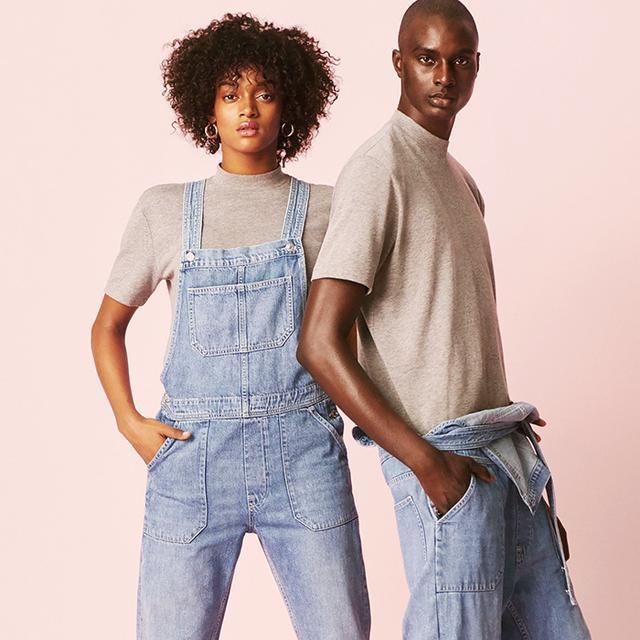 Genderfluid clothing store