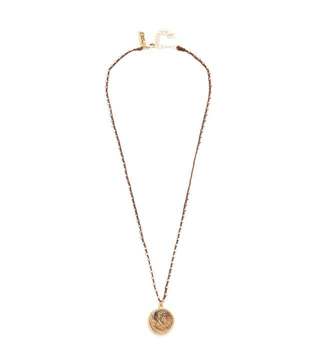 Roman Fortuna Coin Necklace