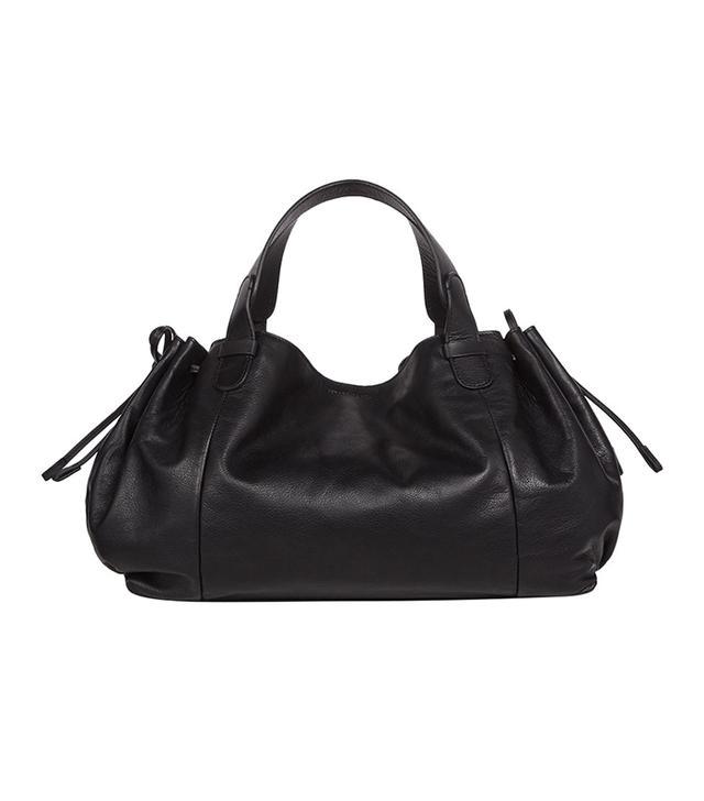 Gerard Darel Leather Le 24 Heures Bag