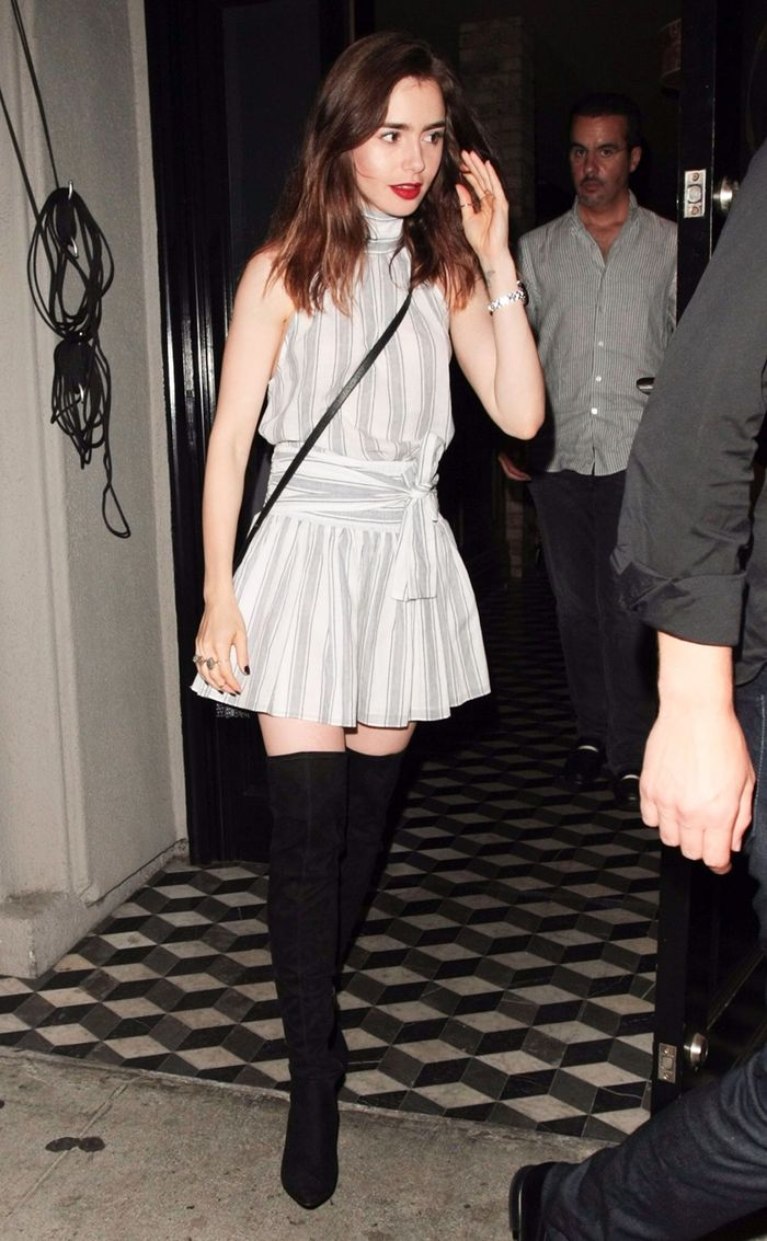 Lily Collins S 12 Best Style Moments Who What Wear