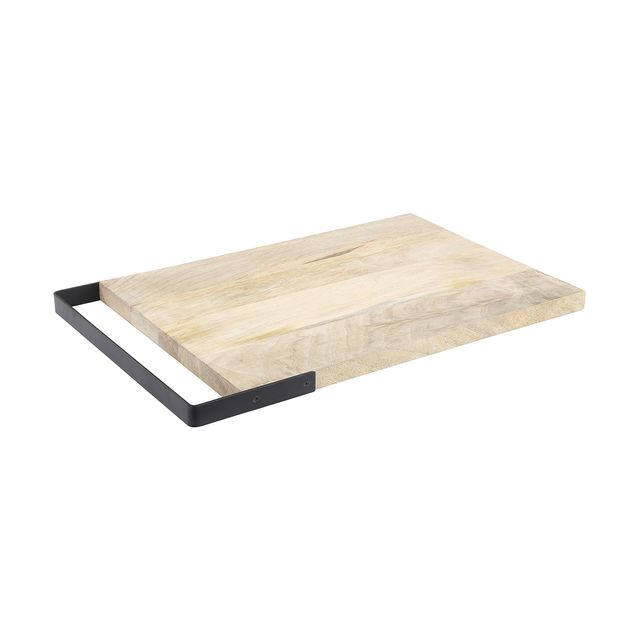 Charcuterie Cutting Board: Brown by World Market