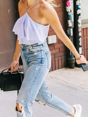 How to Distress Jeans in 4 Easy Steps