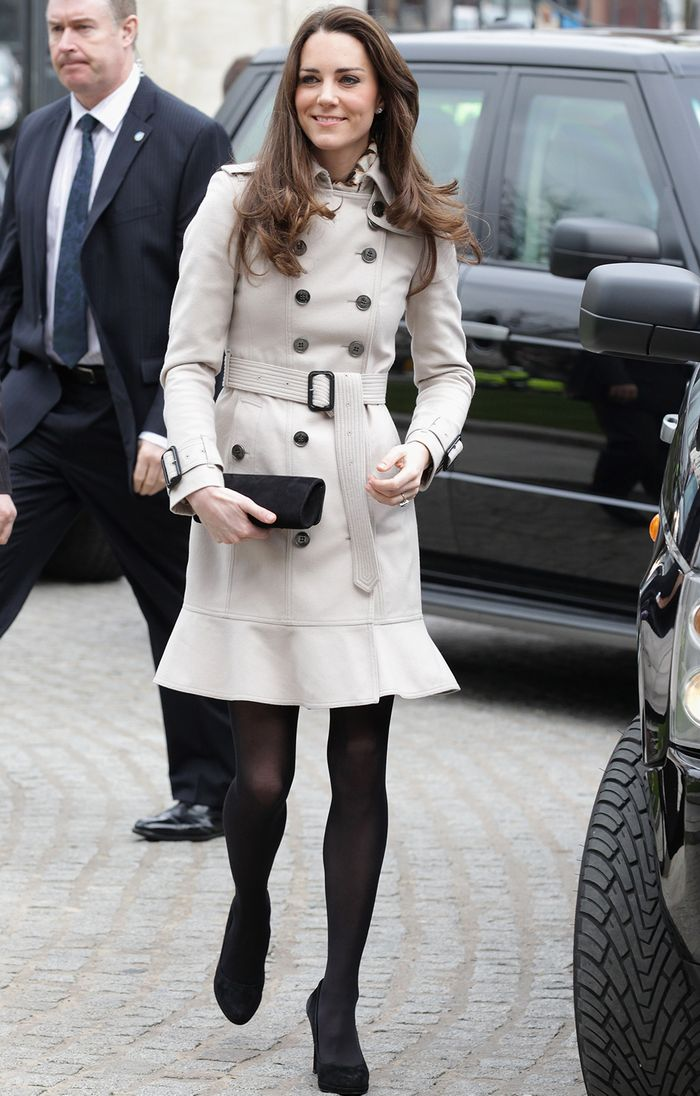 7ed1cfe48 Kate Middleton Looks Very French Today Thanks to These Chic £150 Trousers