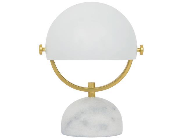 Beacon Lighting Lowe Table Lamp in White