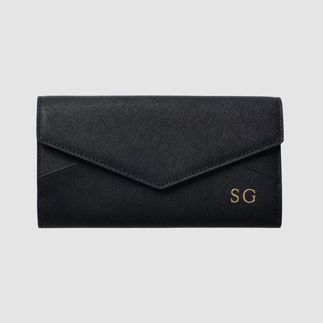 The Daily Edited Black Envelope Wallet