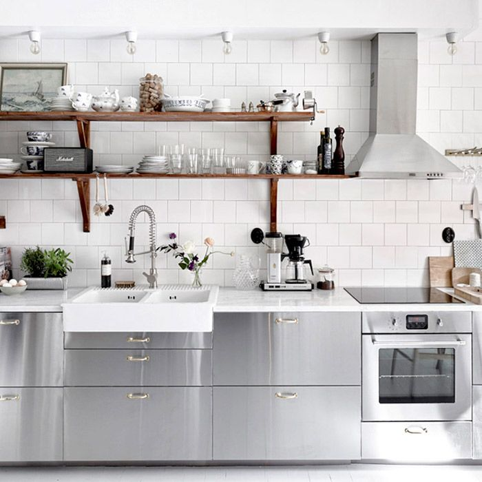 The Most Stylish Ikea Kitchens We Ve Seen Mydomaine