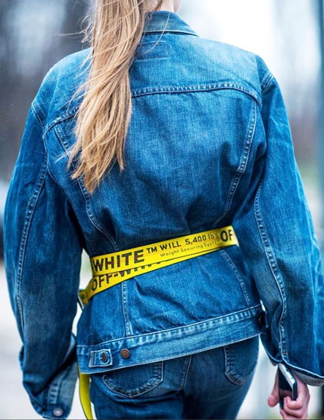 <p><strong>Style Notes:</strong> The favourite way to style this belt is to loop it over the top of a denim jacket or boxy blazer to define the waist.</p>