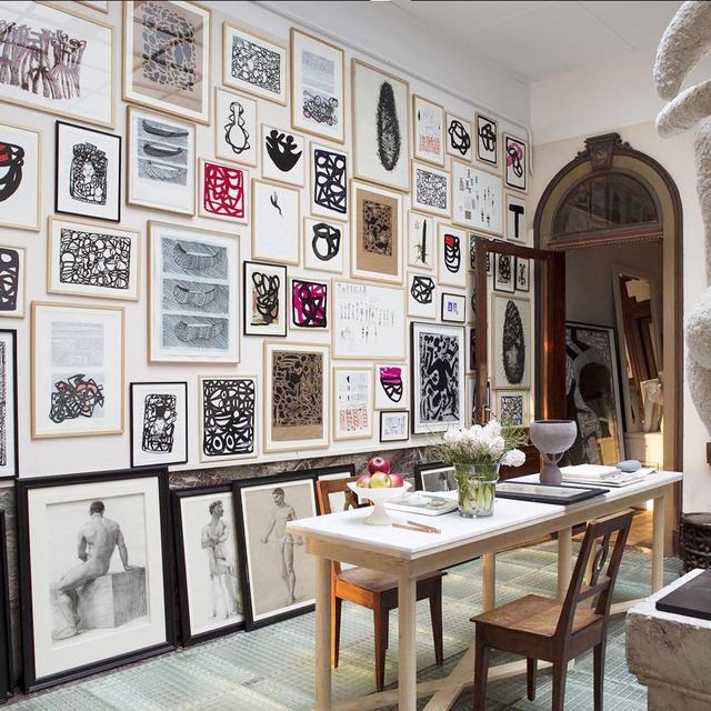 Inside the Art-Filled French Home of a Comme des Garçons Designer