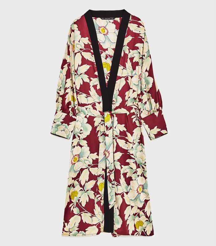 9 Cool Ways To Wear A Kimono Who What Wear Uk