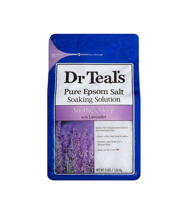 dr teals epsom salt - sore muscle