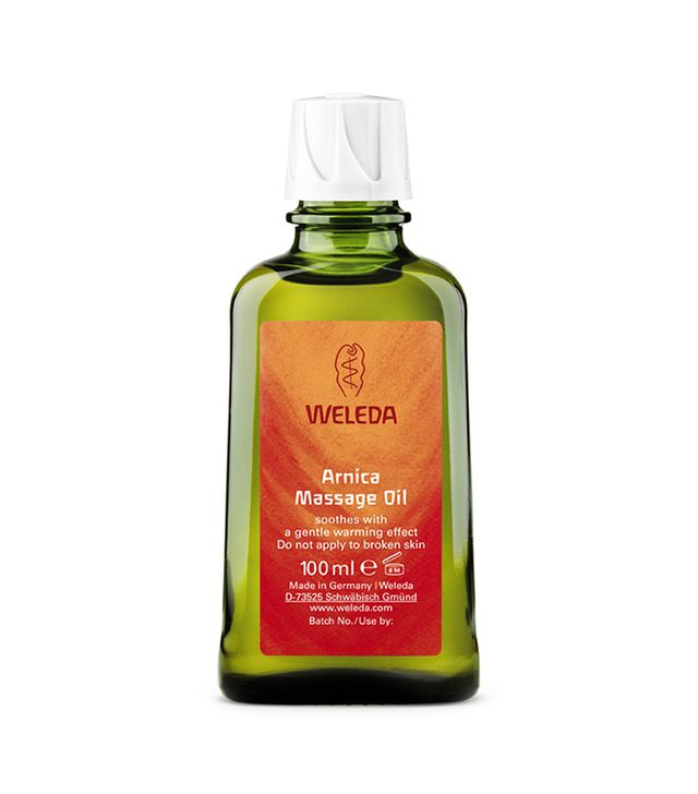 weleda arnica massage oil - sore muscle